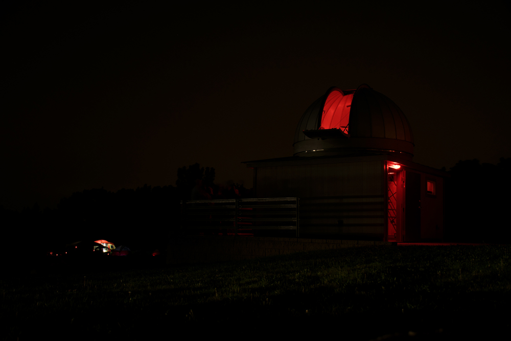 EagleLakeObservatoryNight