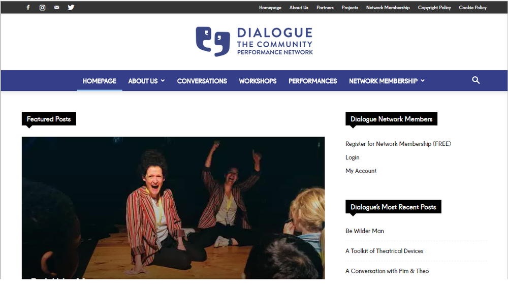 Missed out? - Visit Dialogue for Community for find out what happened...