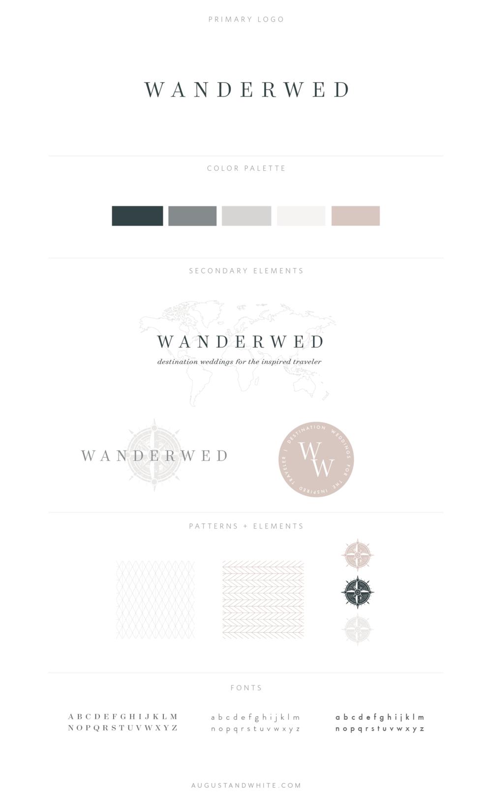 Wanderwed Brand Board.png
