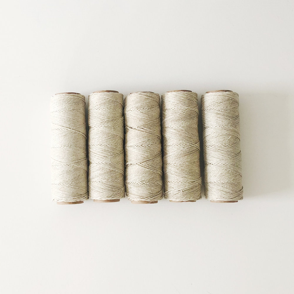 Twine   adds a rustic touch; 1 roll double wraps approximately 100 invites