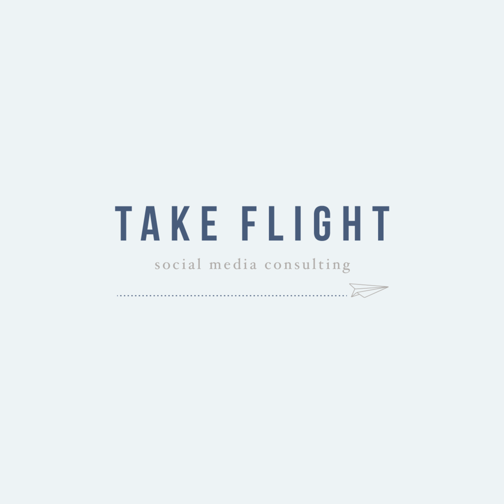 Take Flight    - brand & web -