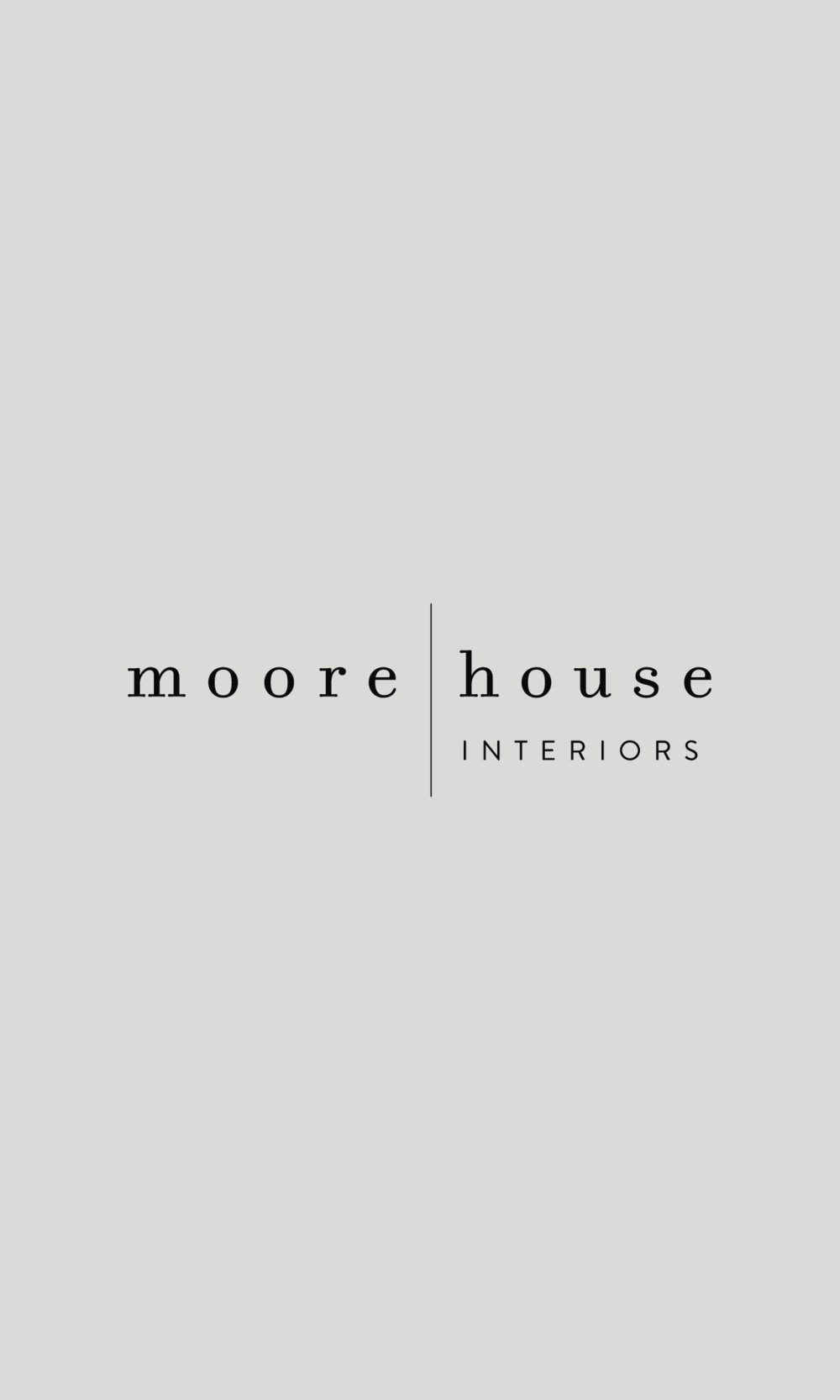Moore House Interiors    - brand & web -