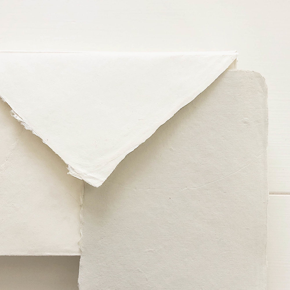 handmade envelopes    due to the thickness, digital envelope printing is not available