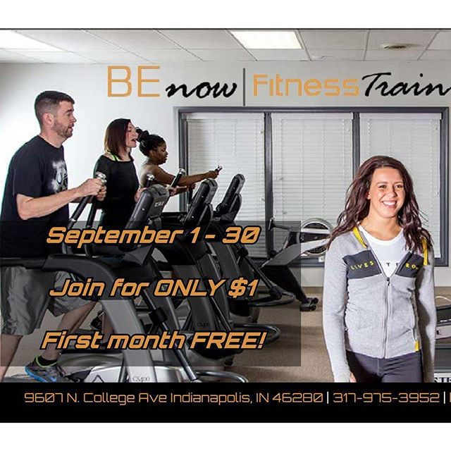 Fall into fitness for only $1!  What are you waiting for?! Sign up for $1 today! First month free!  Bring a friend! #benowfitness #fitness #joinanewgym #$1signup #newlifestyle #indygyms #indianapolisgym #joinnow