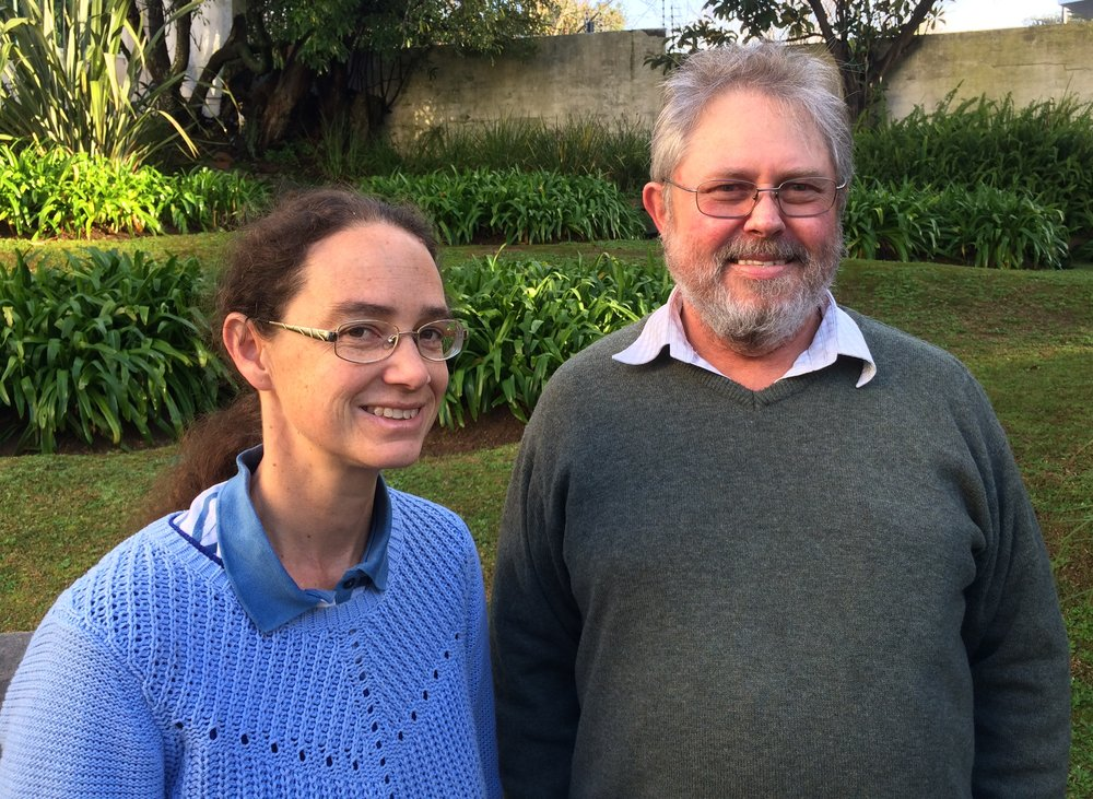Sheila Imrie, principal hydrogeologist and groundwater modeller and Des Visser, principal hydrogeologist an associate partner in SRK's Cape Town office