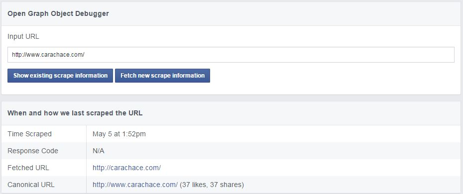 Fetch New Scrape Information Facebook - Cara Chace