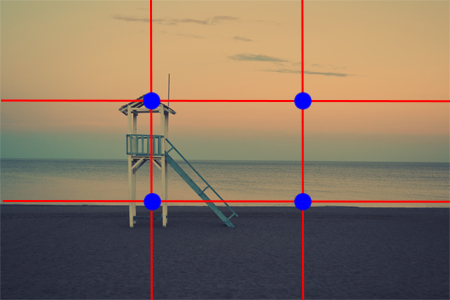 Rule of Thirds Photo Example - Cara Chace