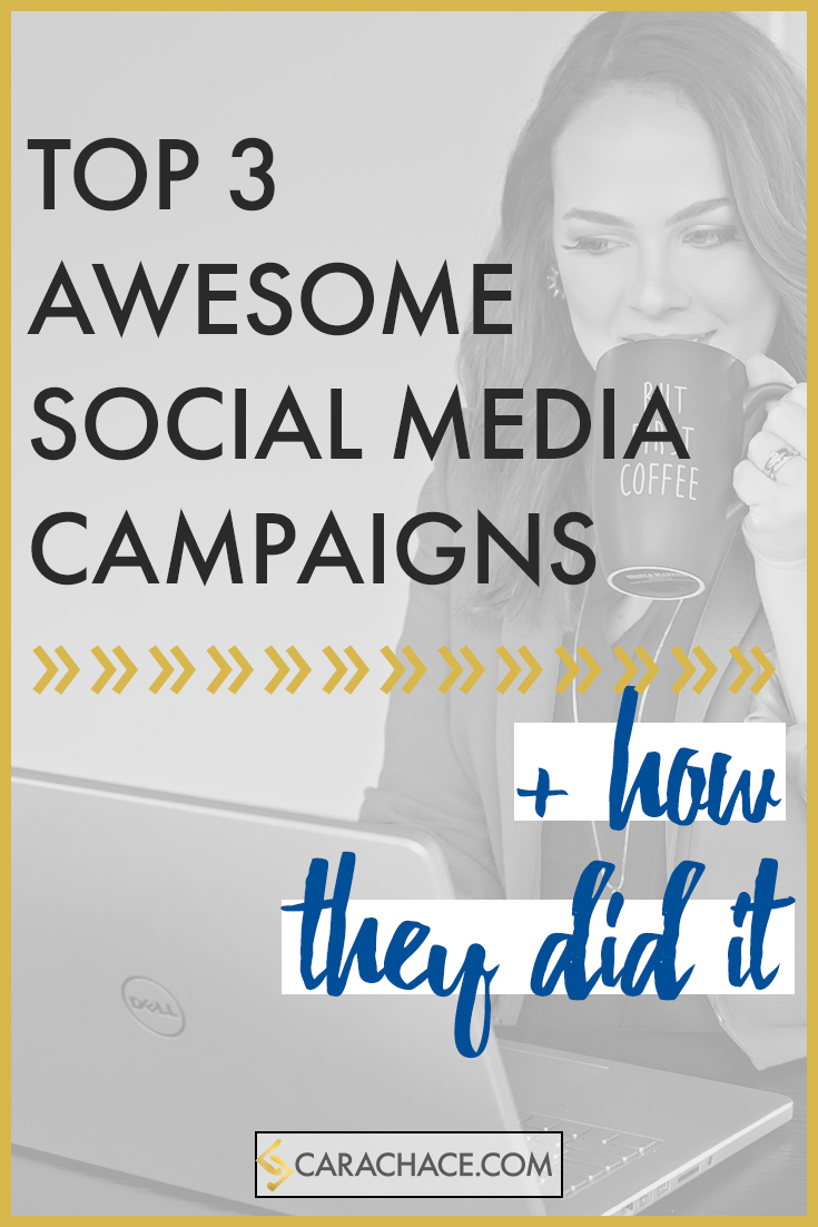 top 3 awesome social media campaigns cara chace