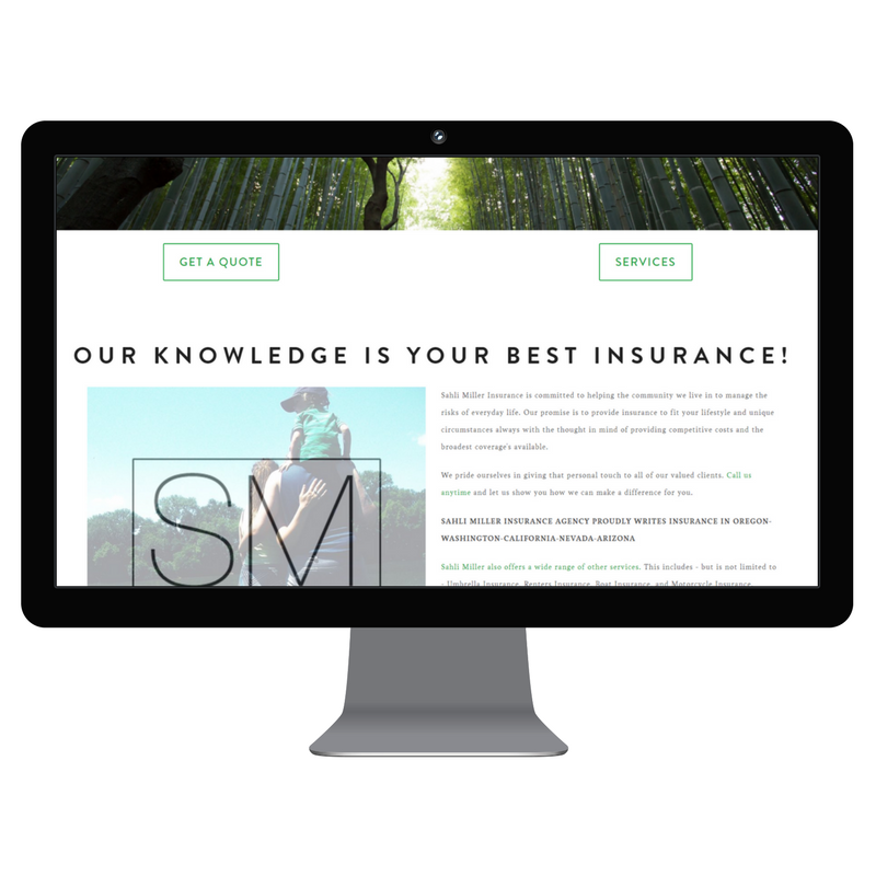 Sahli Miller Insurance - Complete Website Redesign