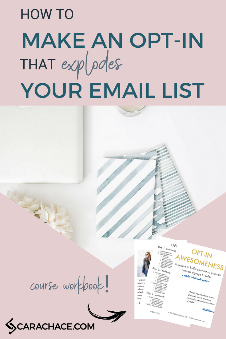 How to make an opt-in that explodes your email list.