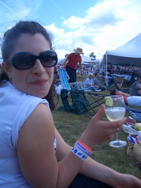 At a Virginia Wine(o) festival.