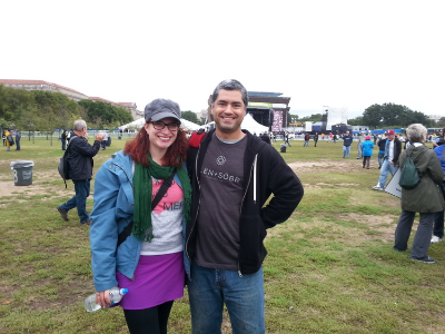 Here we are during the infamous #UNITEtoFaceAddiction in Washington, DC, October 2015.