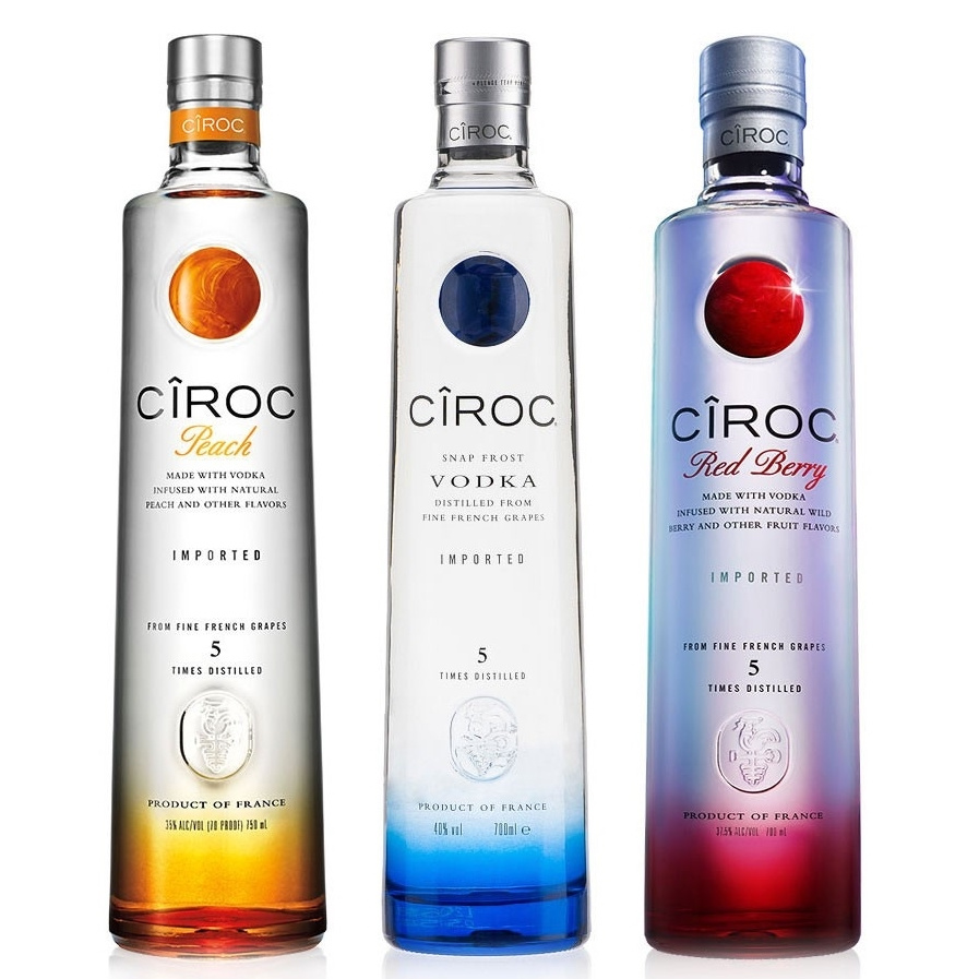 Ciroc Vodka 750ml on sale regular and all flavors/ was 33.99 Now $29.99