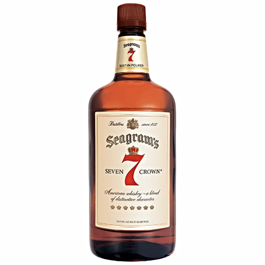 Seagram's 7 Crown 1.75L   On Sale/ Was $23.99   Now $17.99