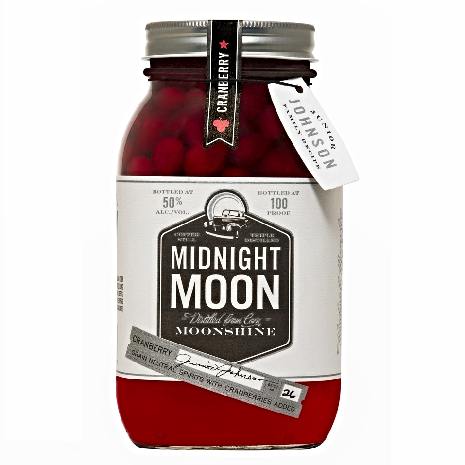Midnight Moon - Cranberry Moonshine 750ML Cranberry Only on Sale/ was $19.99 Now $16.99