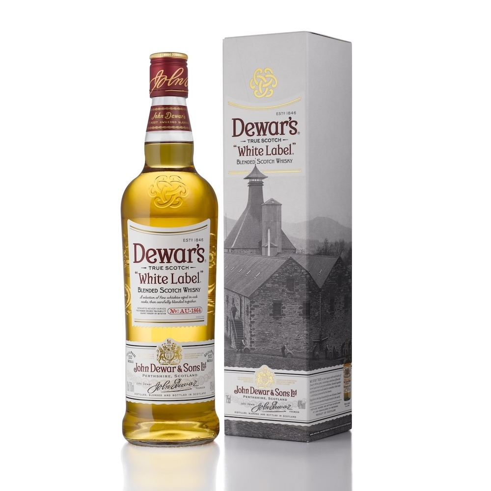 Dewar's White Label Blended Scotch Whisky 750ml   On Sale/ Was 25.99   NOW $21.99
