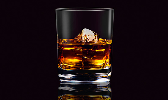 jack whikey glass