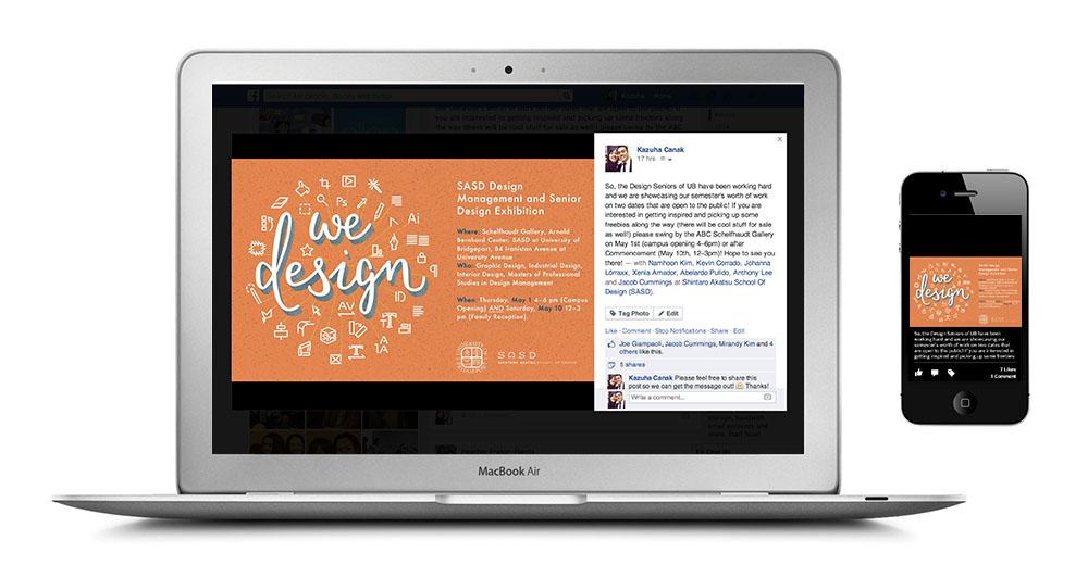 we design social media