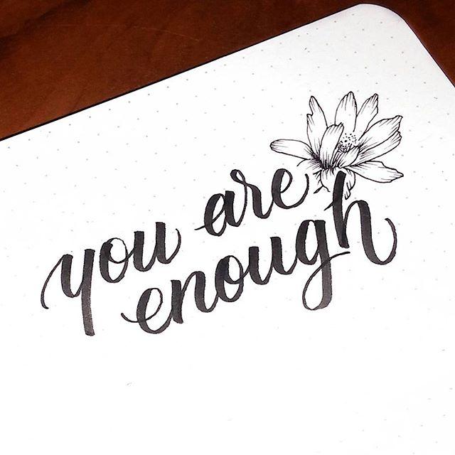You are enough script