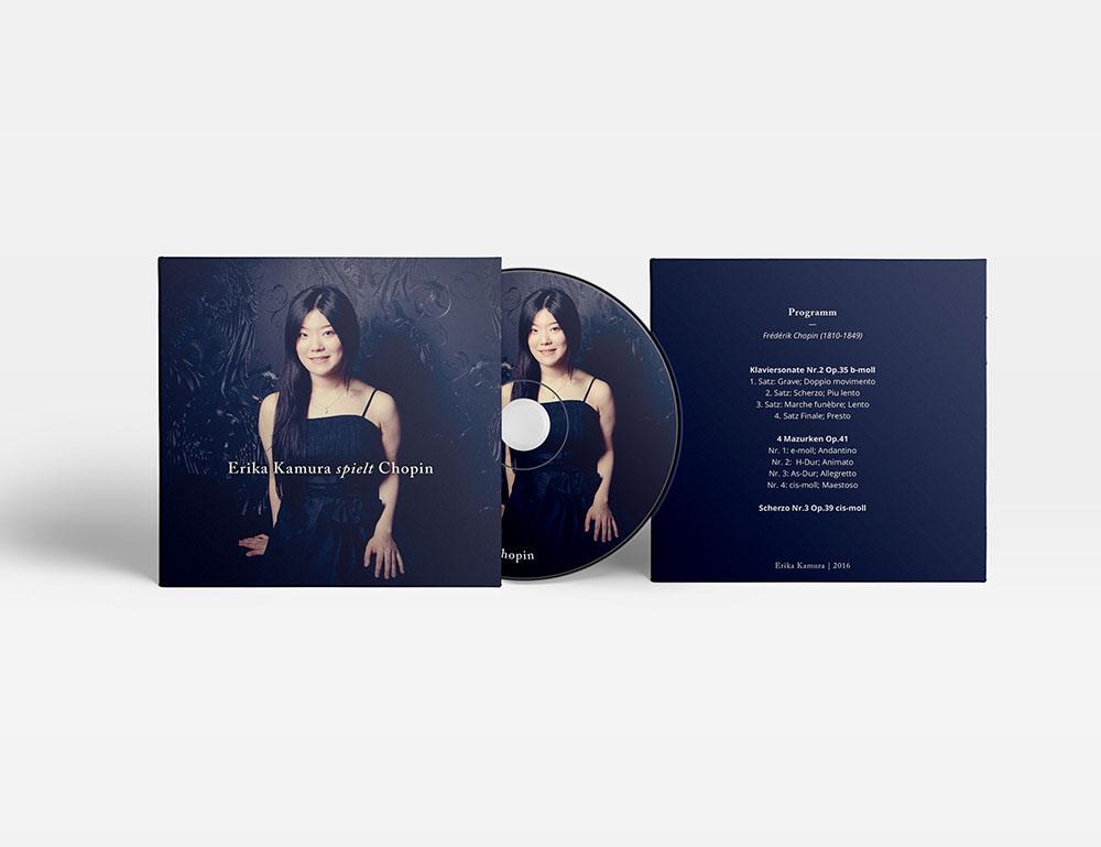 CD cover & label design