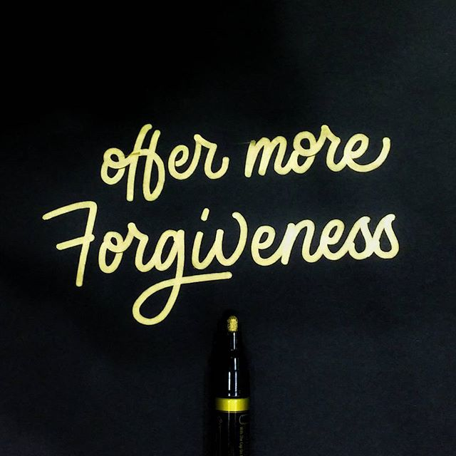 No. 5: Offer More Forgiveness #40waystogivemorelife