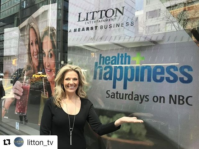 #Repost @litton_tv (@get_repost) ・・・ If you're in the streets of #NYC, head to the corner of 57th & 8th to check out #NBCHealthHappiness on the impressive @HearstLive installation! Watch a BRAND NEW episode this Saturday morning on @NBC. @joybauer @vivien_j_williams_ @MayoClinic @womansdaymag