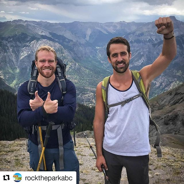 Get ready for more adventure! Season 5 of @rocktheparkabc starts this weekend on ABC!  #Repost @rocktheparkabc  #RockThePark is kicking off Season 5 with a visit to Uncompahgre National Forest!