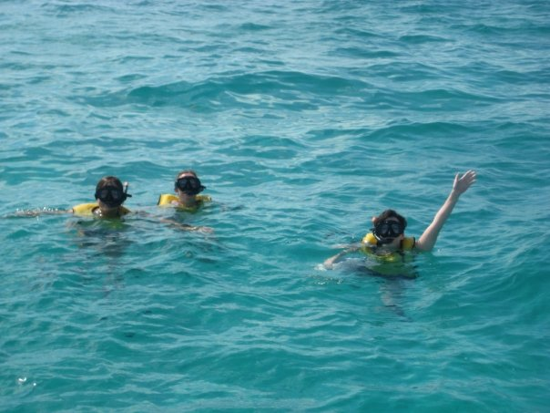 Scuba diving on a girl's trip to the Florida Keys