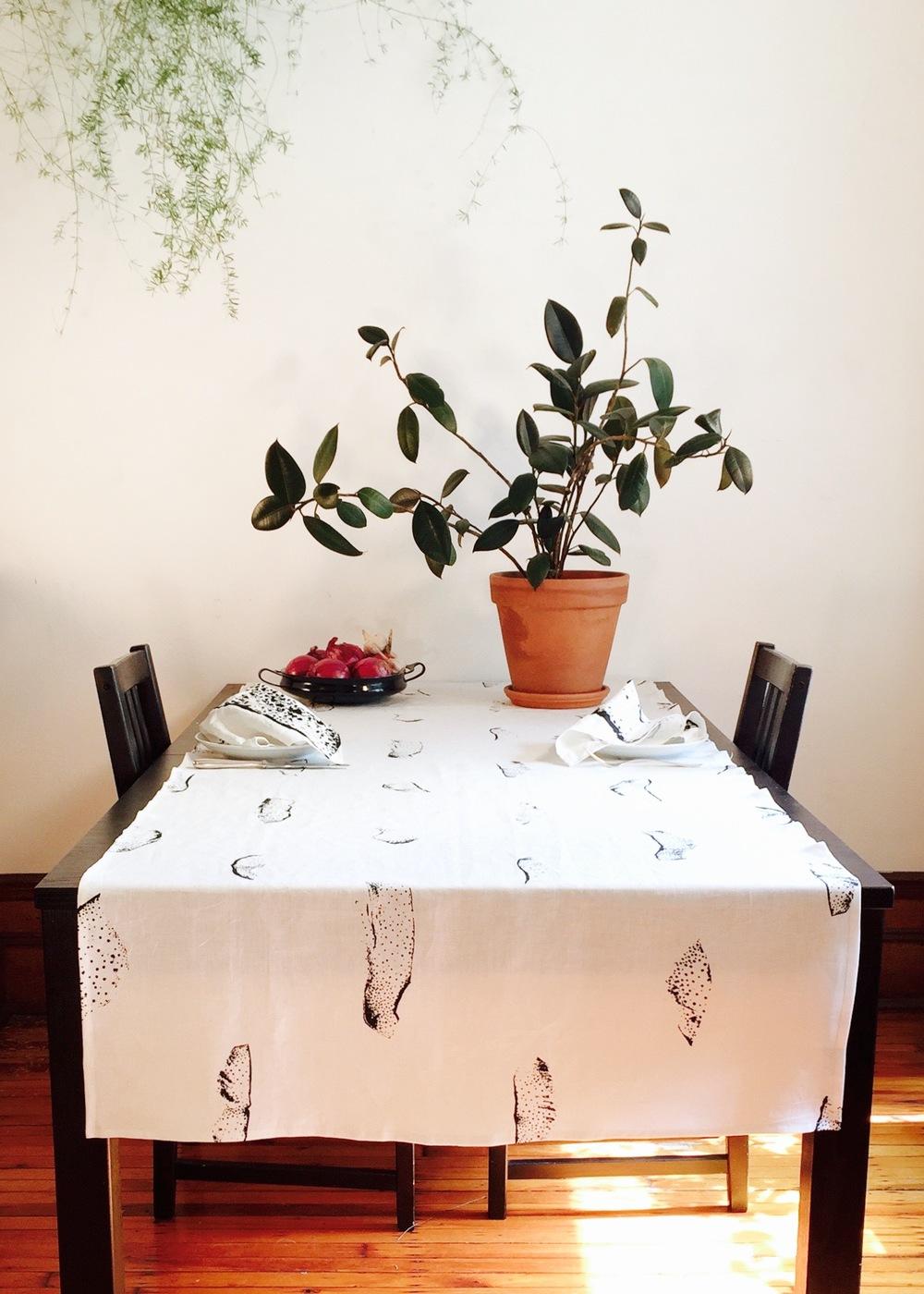 PEELS, tablecloth