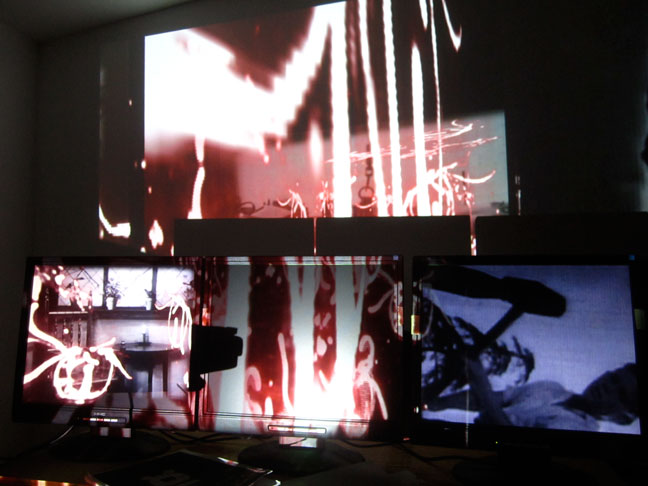 4-Channel Video Installation 2014
