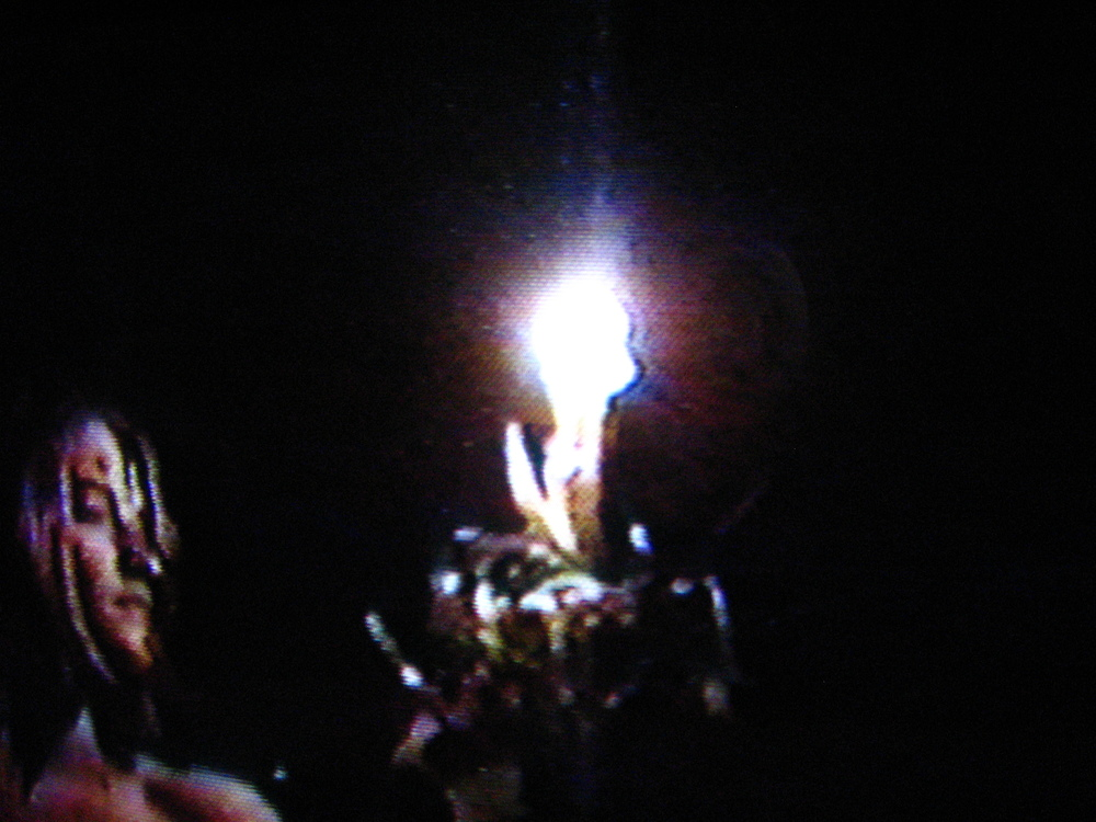 FIREWALKING Video Still, 1-Channel U-Matic Video Tape, Rognes France 1993