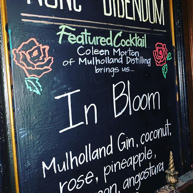 Pretty chalkboard. Pretty drink. Pretty damn excited!! Thank you @bigbaralcove @carisunnie @eugeneshoots @cococoleeen for all the pretty.