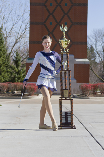 National Collegiate Champion Twirler