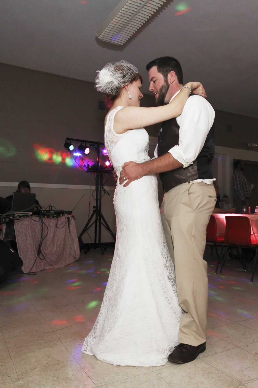 The first dance as husband and wife. © 2014 Shealyn McGee-Sarns