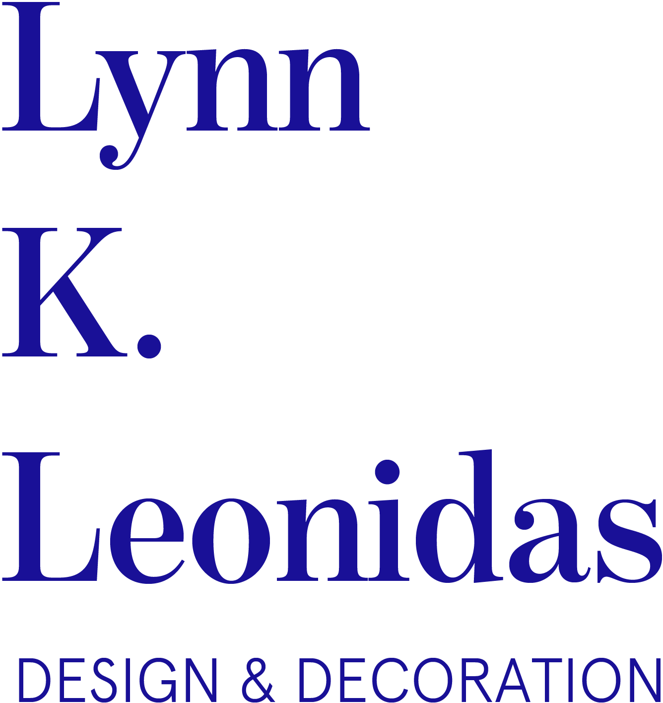 Lynn K. Leonidas | Design & Decoration