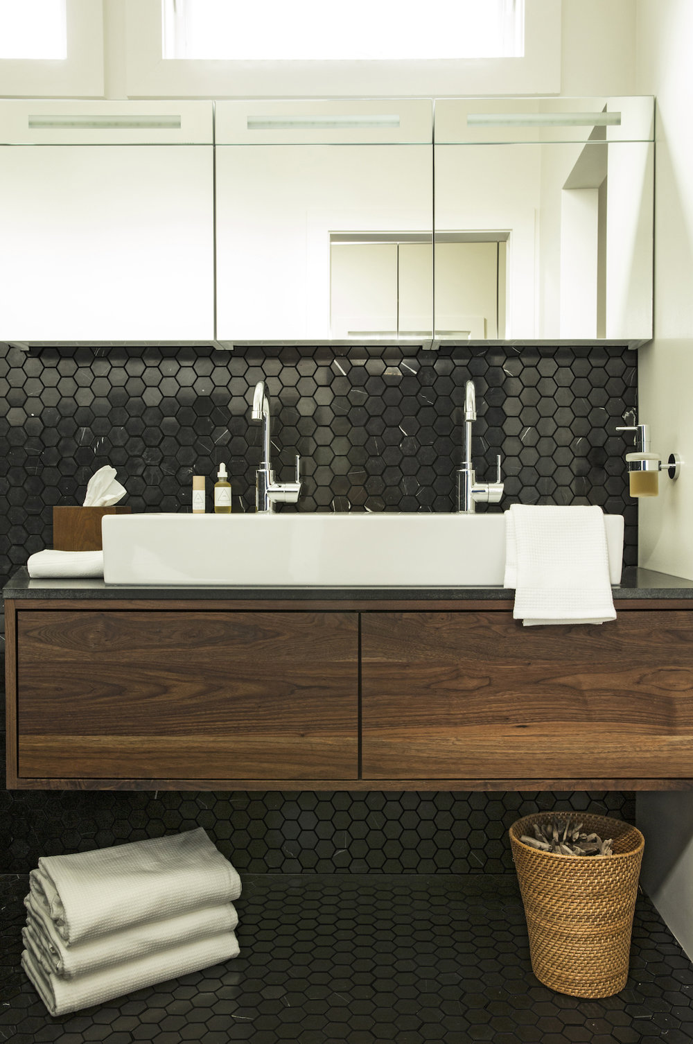 Lynn K. Leonidas | Balboa Master Bathroom