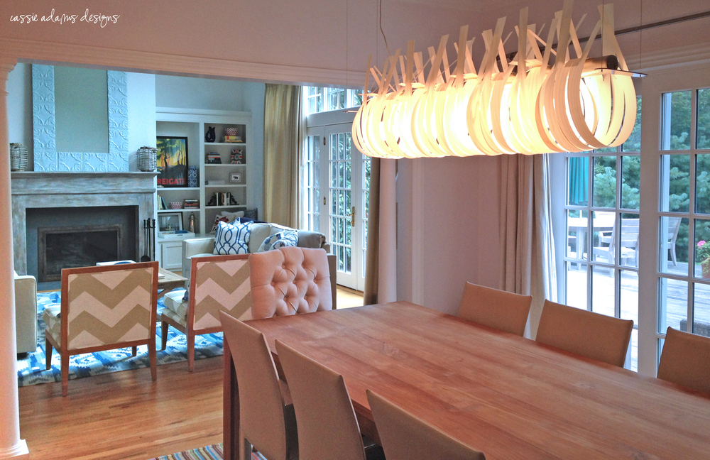 hamptons dining room