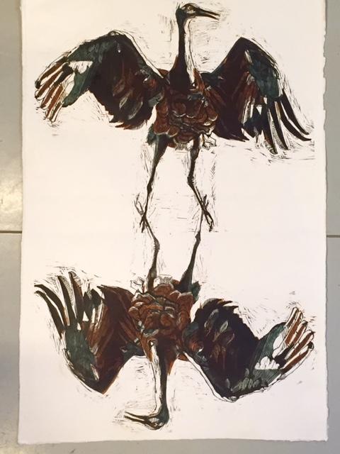 """""""Mirror Cranes"""