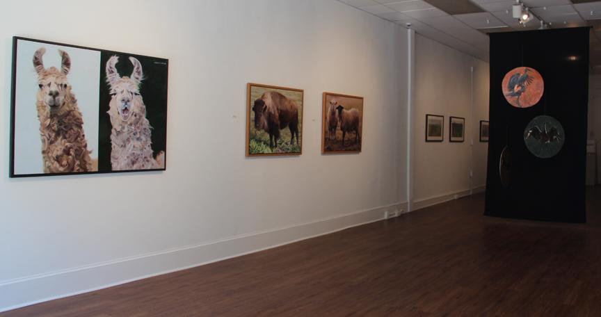 """Strange Pastures"" Salisbury University Art Gallery, May/June 2016"