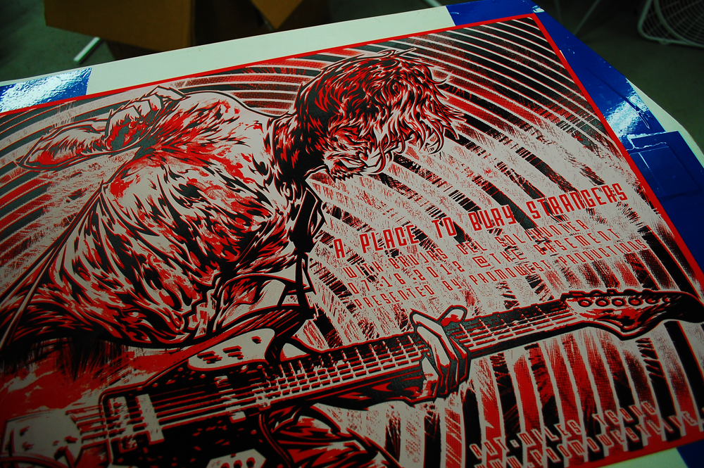 Silkscreen | A Place To Bury Strangers | 09