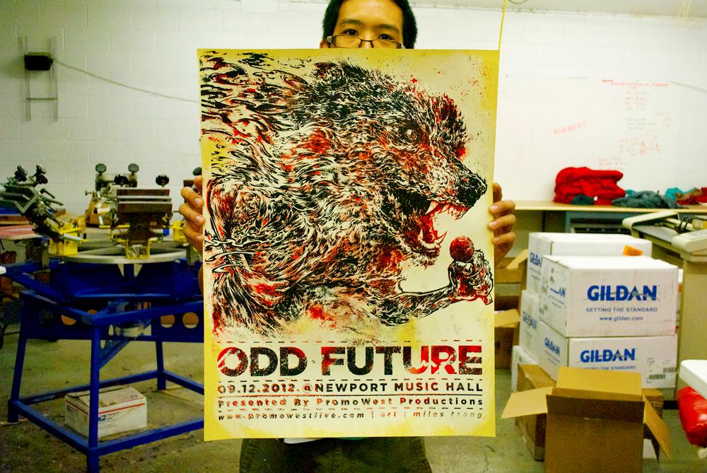 Silkscreen | Odd Future | 18