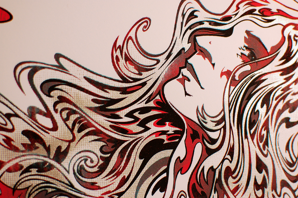 Patti Smith head detail.
