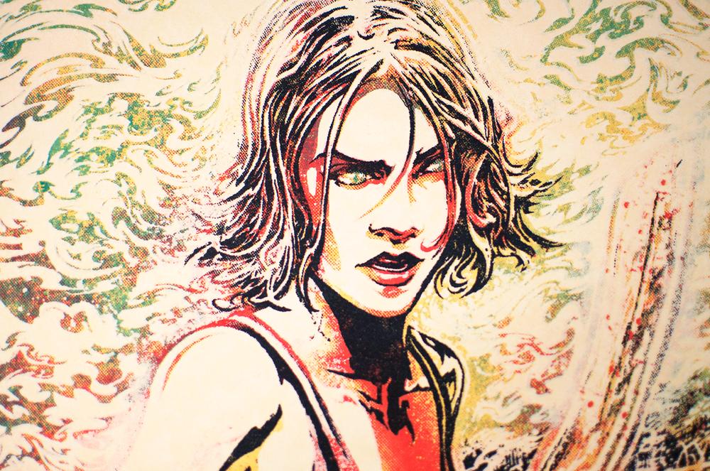 Maggie Green detail.