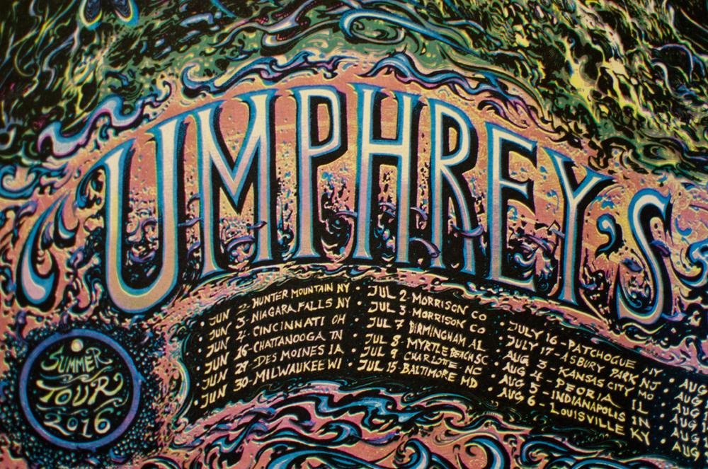 Umphrey S Mcgee Summer Tour  Poster