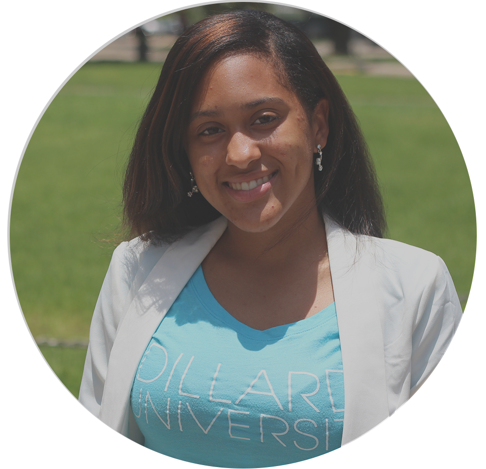A recent Dillard graduate, Joy is excited to start graduate school in Texas in August.