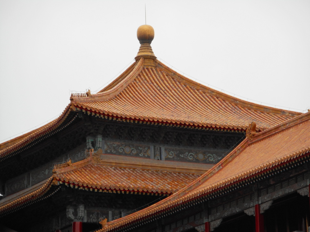 The Forbidden City.  There were so man buildings, and they were all amazing - and identical.