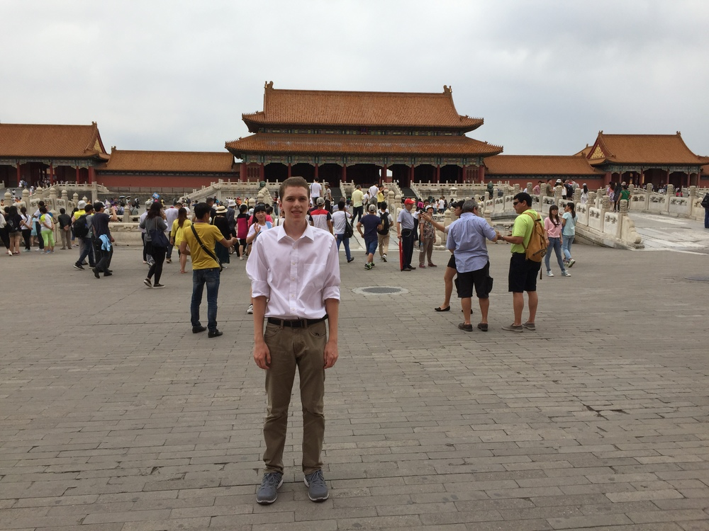 Me at the Forbidden City.