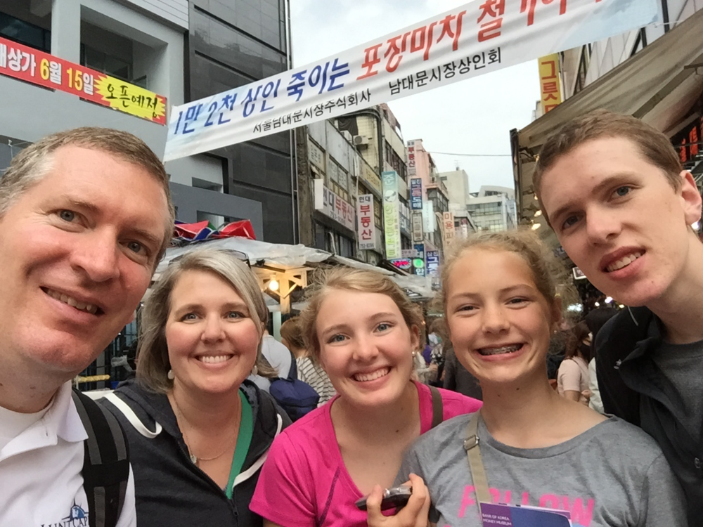 Walking the streets of Seoul