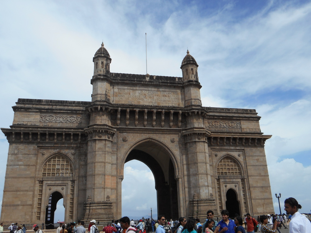 This is the Gateway of India.  It is so beautifully carved!