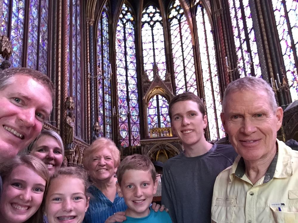 San Chapelle in Paris.